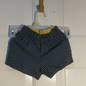 Size 12 month Tommy Hilfiger boys plaid shorts